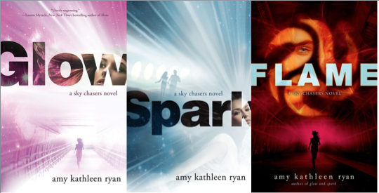 Glow, Spark, and Flame; Amy Kathleen Ryan