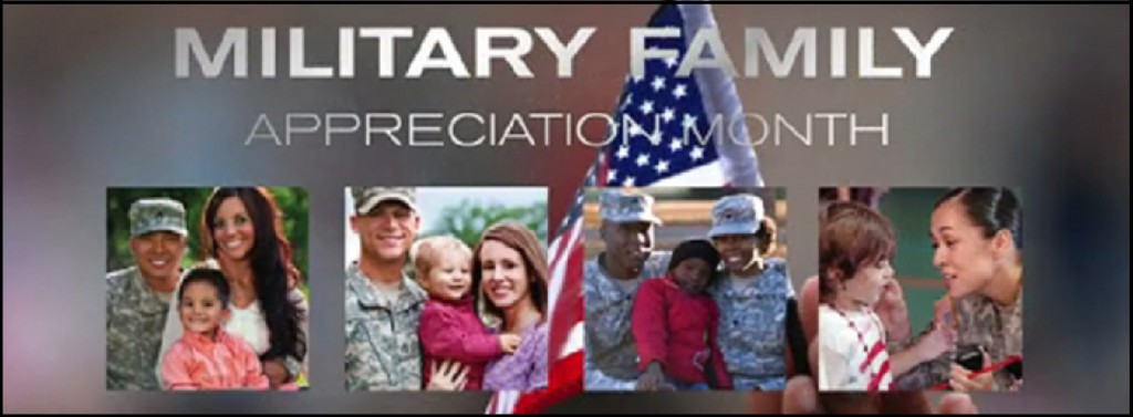 Military Family Appreciation Month COLLAGE