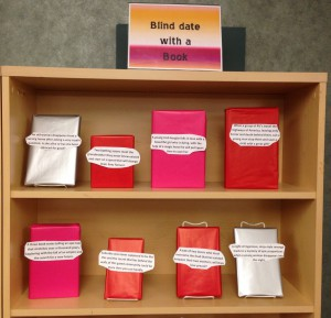Blind Date with a Book display 1