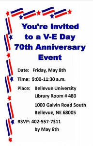 VE Day Invitation
