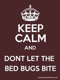 Bed Bug Sign